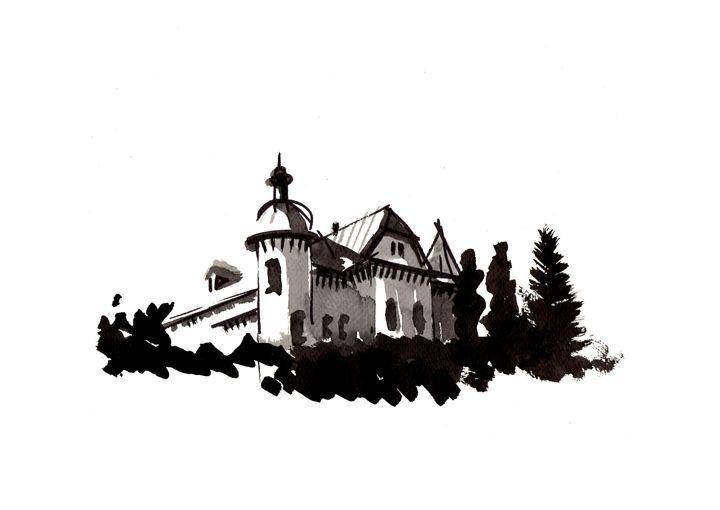 Zimbor Castle, Salaj - 7even Arts - shaping harmony