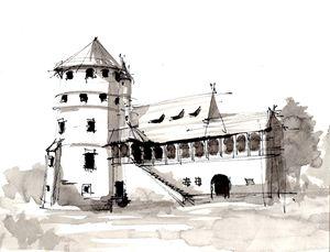 Bethlen Castle, Cris