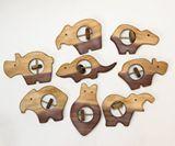 Wooden rattle - pets