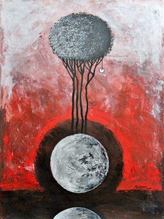 La Luna Es Testigo Permanente - Muriedas Arts