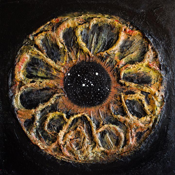Taurus Eye Constellation - Art by Presa