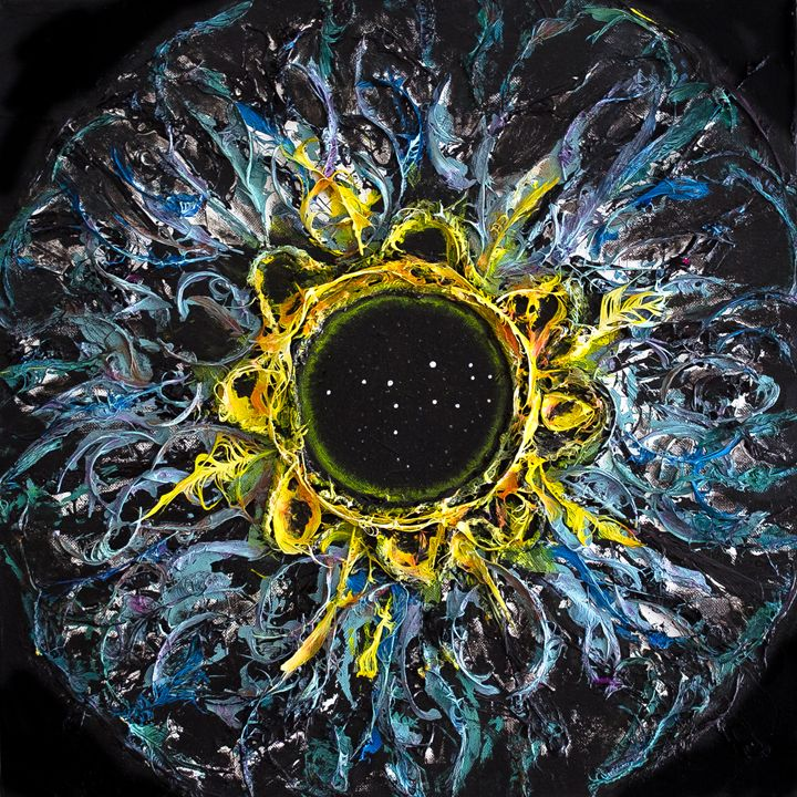 Virgo Eye Constellation - Art by Presa