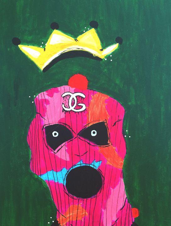 """King Ski-Mask"" -  Chrisgustavusart"