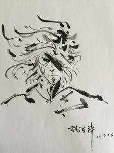 Art Brush on Paper