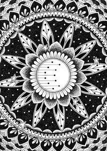 Night Moon Mandala