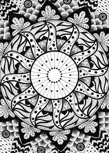 Sun Garden Mandala