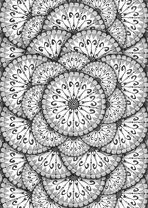 Air Element Mandala - NerdBird