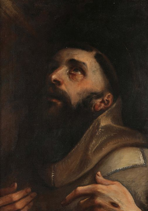 Annibale Carracci~St. Francis of Ass - Old master image