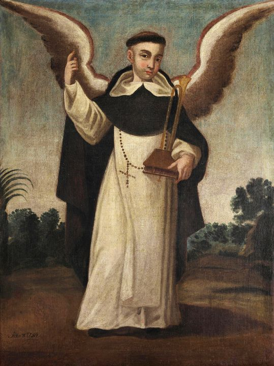 Anonimo Mexico~San Vicen Ferrer - Old master image