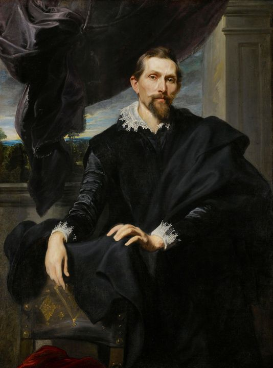 Anthony van Dyck~Frans Snyders - Old master image