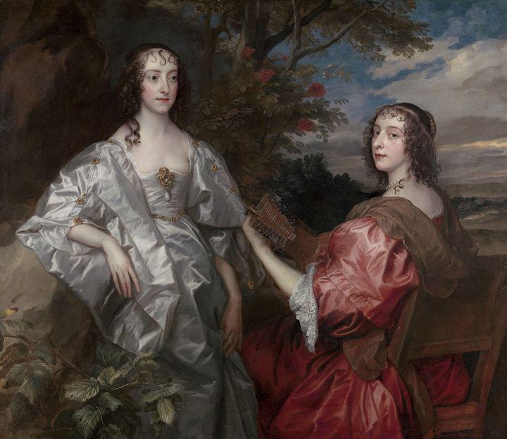 Anthony van Dyck~Katherine, Countess - Old master image