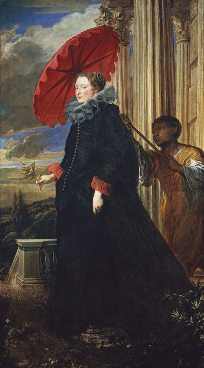 Anthony van Dyck~Marchesa Elena Grim - Old master image