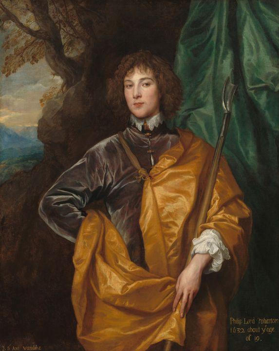 Anthony van Dyck~Philip, Lord Wharto - Old master image