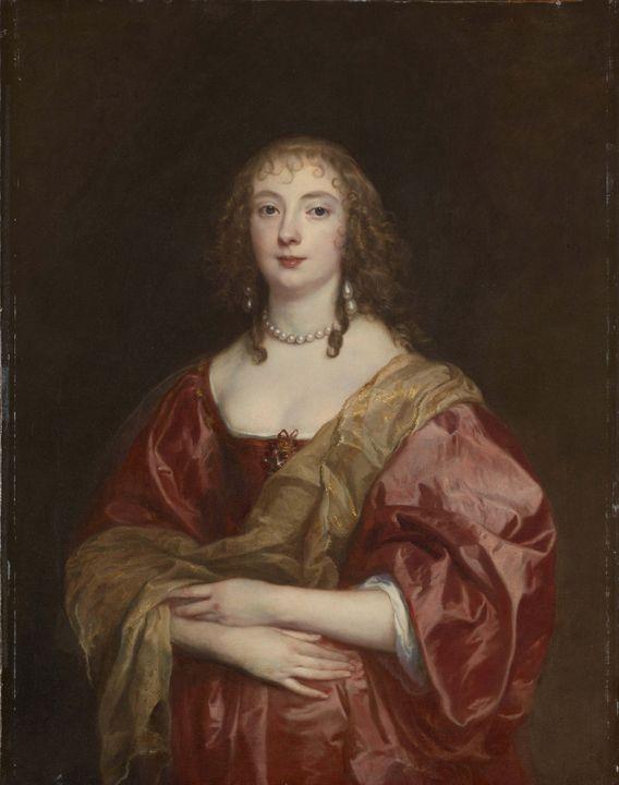 Anthony van Dyck~Portrait of Anne Ca - Old master image