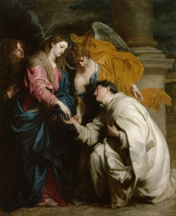Anthony van Dyck~The Vision of the B - Old master image