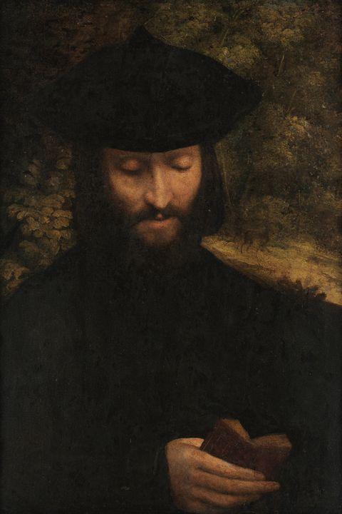 Antonio da Correggio~Portrait of a m - Old master image