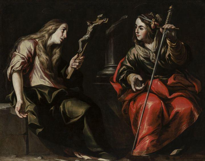Antonio del Castillo~Saint Mary Magd - Old master image