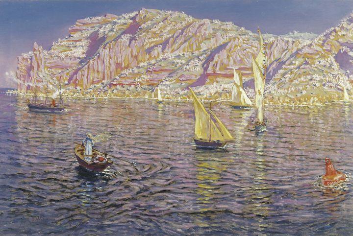 Antonio Muñoz Degrain~Seascape. View - Old master image