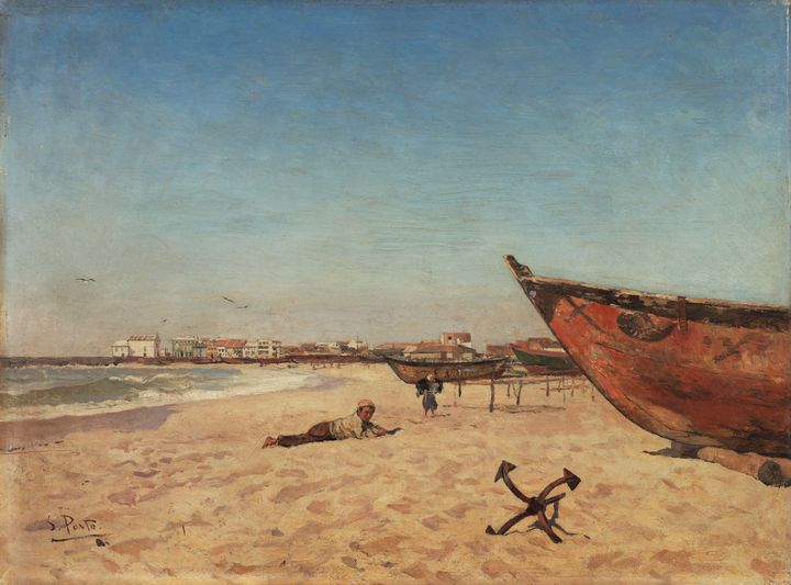 António Carvalho de Silva Porto~Beac - Old master image