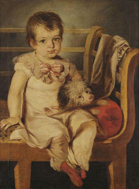 Antônio Joaquim Franco Velasco~Boy w - Old master image