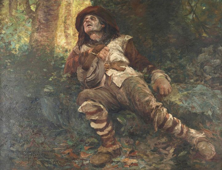 Antônio Parreiras~Morte de Fernão Di - Old master image