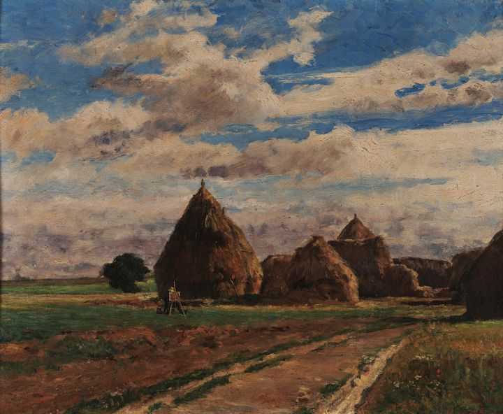 Artur Loureiro~Landscape (Auvers-Sur - Old master image