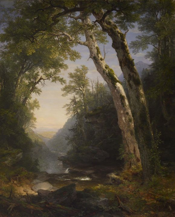 Asher Brown Duran~The Catskills - Old master image