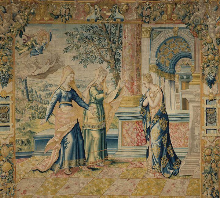 Atelier de Paris~Psyché et ses soeur - Old master image