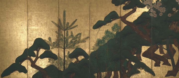 Attributed to Tawaraya Sotatsu~Foldi - Old master image