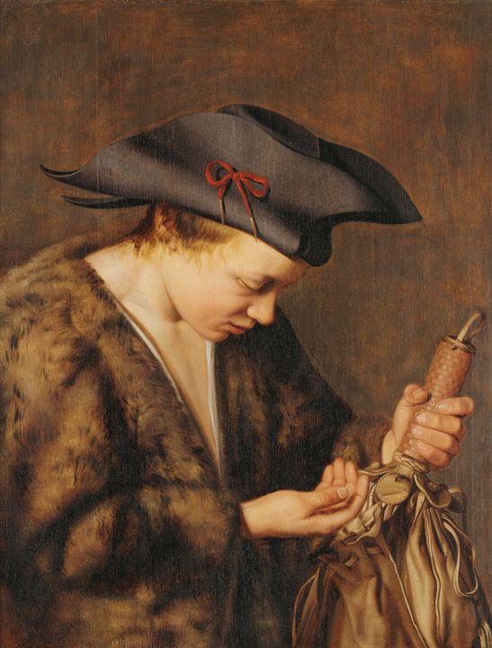 attributed to Willem van der Vliet~T - Old master image
