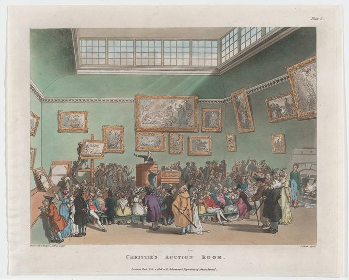 Augustus Charles Pugin, Thomas Rowla - Old master image
