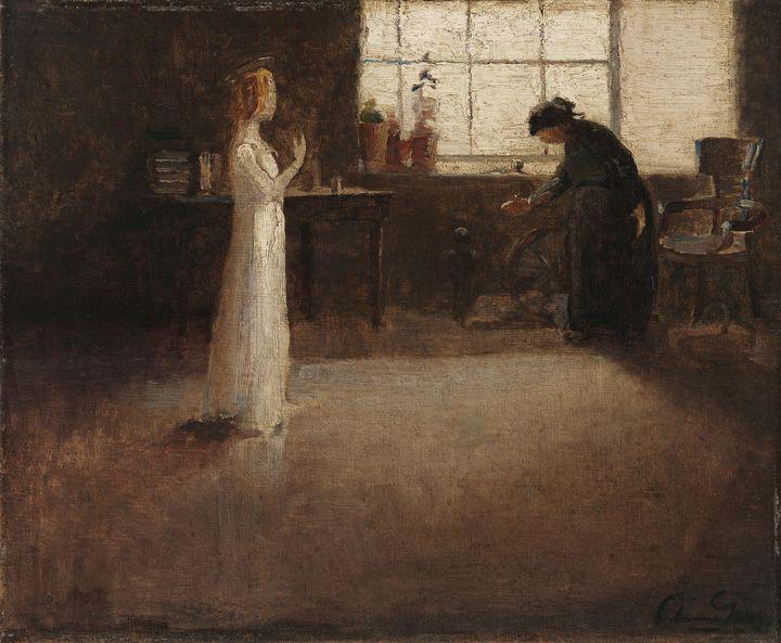 Aurélia de Sousa~Visitation - Old master image