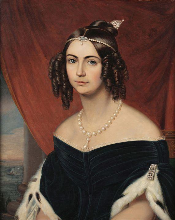 Autor não identificado~Retrato de Do - Old master image