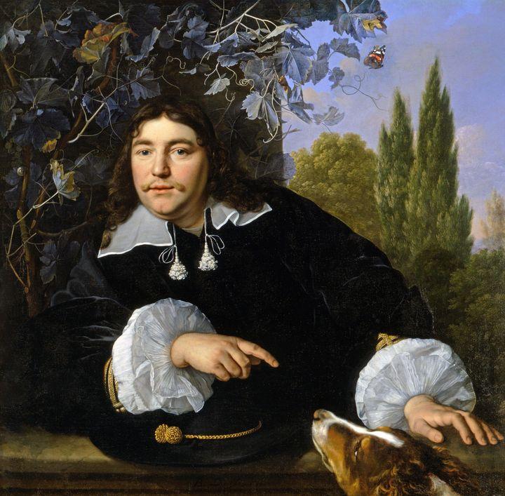 Bartholomeus van der Helst~Self-Port - Old master image