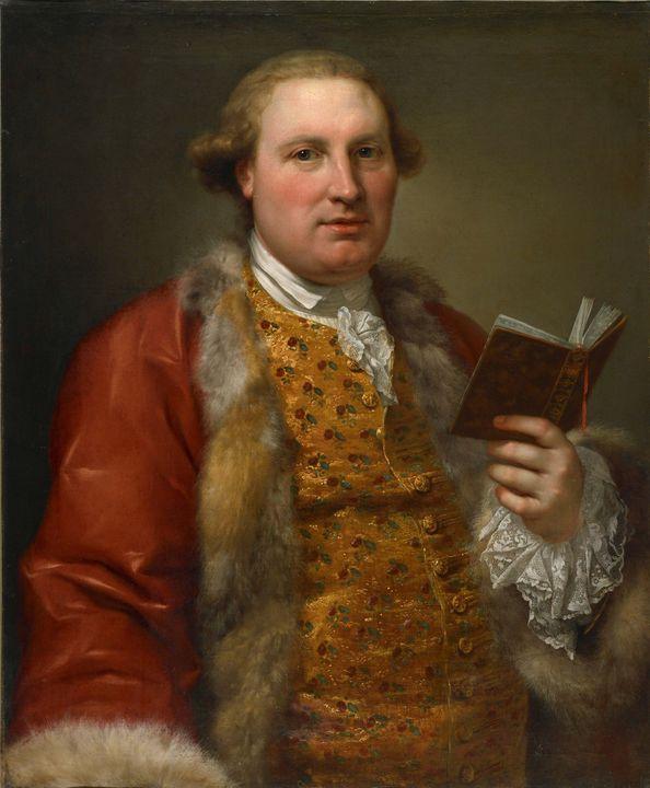 Anton von Maron~Archibald Menzies - Old master image