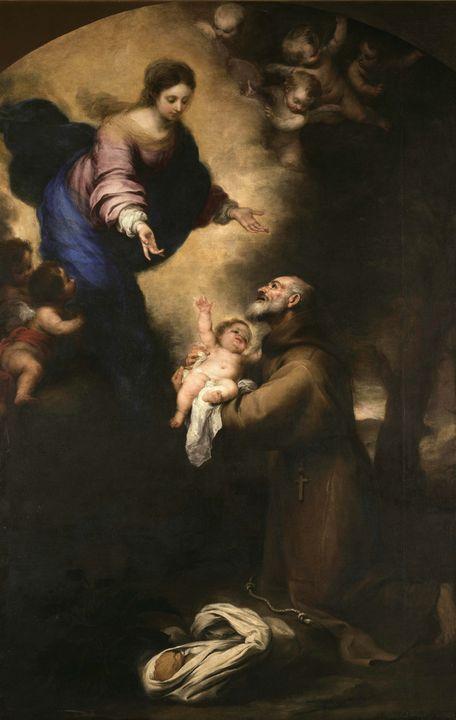 Bartolomé Esteban Murillo~Saint Feli - Old master image