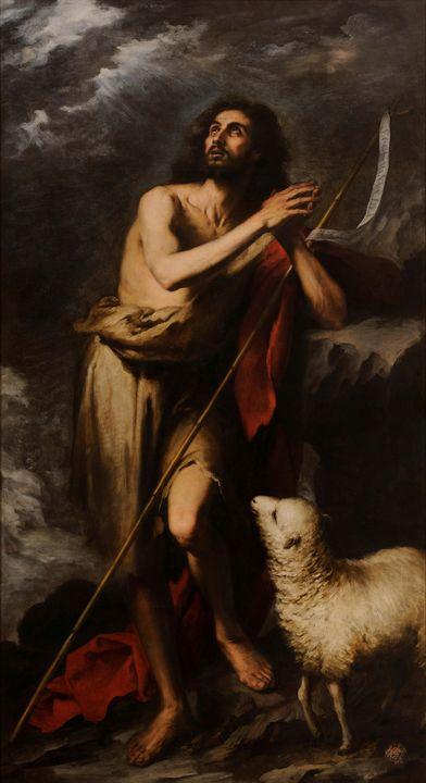 Bartolomé Esteban Murillo~Saint John - Old master image