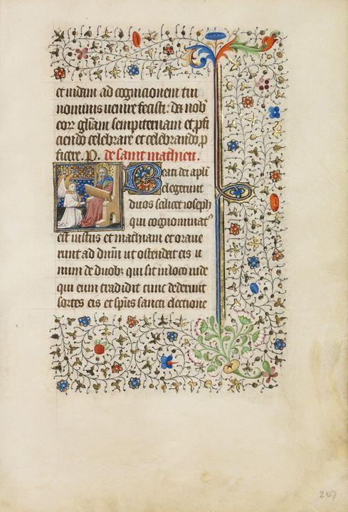 Bedford Master, Dunois Master~Saint - Old master image