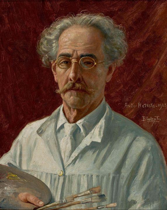 Benedito Calixto~Self Portrait - Old master image