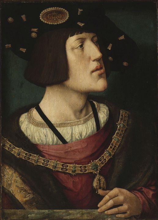 Bernard van Orley~Portrait of Charle - Old master image