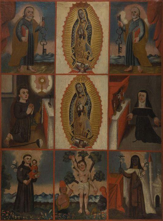 Anónimo novohispano o mexicano~Virge - Old master image