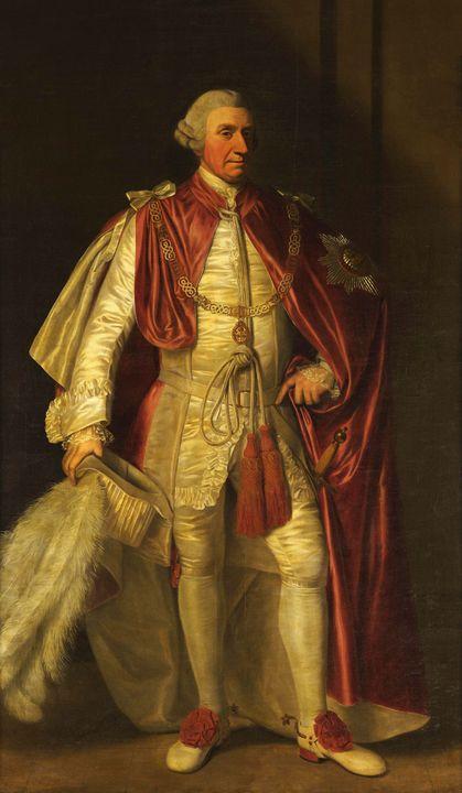 Biagio Rebecca~Portrait Sir John Gri - Old master image