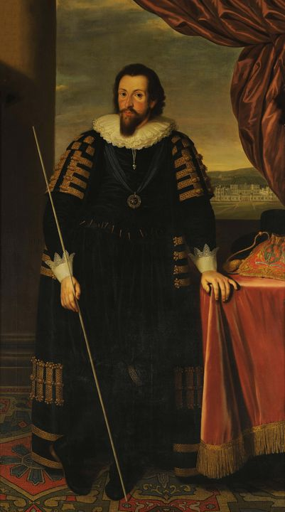 Biagio Rebecca~Thomas Howard, 1st Ea - Old master image