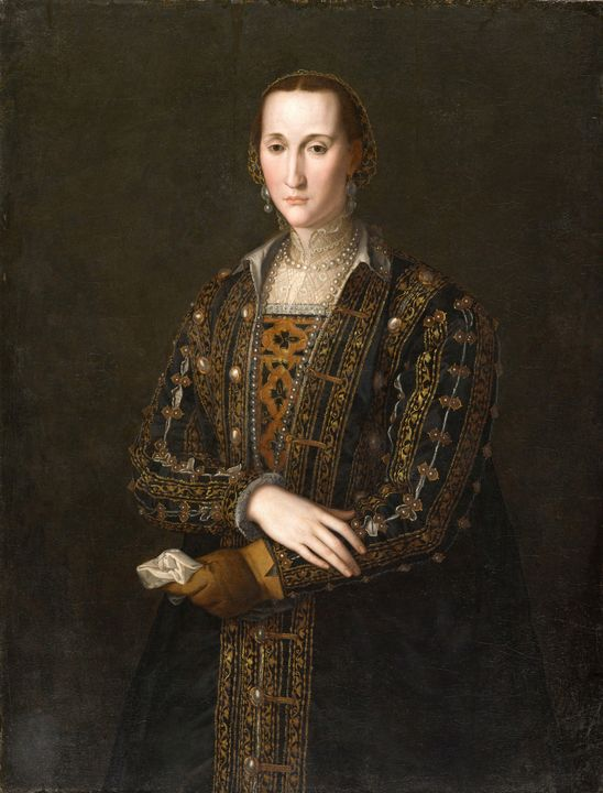 Bronzino~Eleonora di Toledo (1522-15 - Old master image