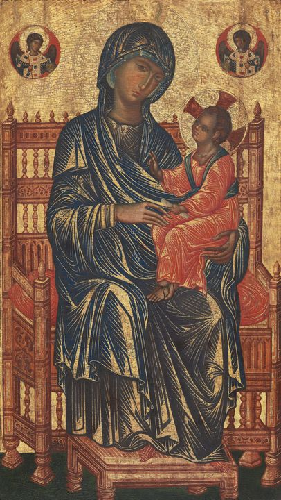 Byzantine 13th Century (possibly fro - Old master image