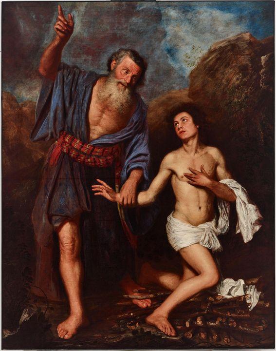 c. 1659~The Sacrifice of Isaac - Old master image