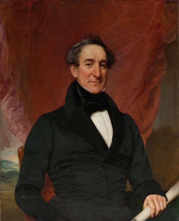 c. 1838~William Elliott - Old master image