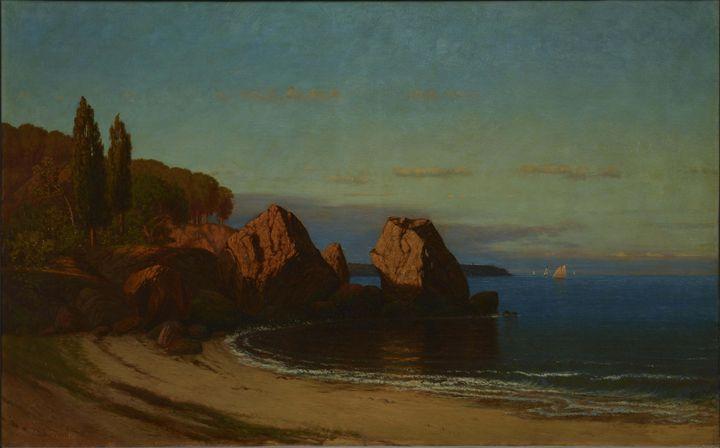 c. 1880�902~Boulders - Old master image