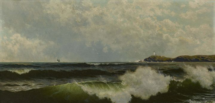 c. 1885–1890~Seascape - Old master image