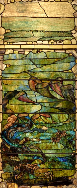 c. 1885–1895~Window with Sea Anemone - Old master image